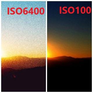 الضوضاء الرقمية بسبب ISO مرتفع