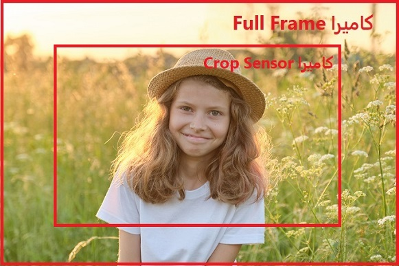 crop sensor و full frame
