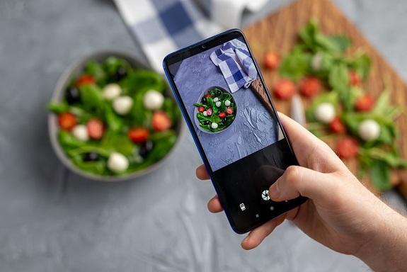 معدات تصوير الطعام
