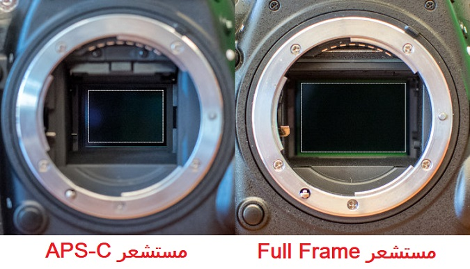 الفرق بين عدسات EF وعدسات EF-S